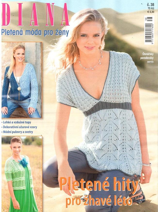 dd1a37b5269 Diana pletená móda pro ženy 38