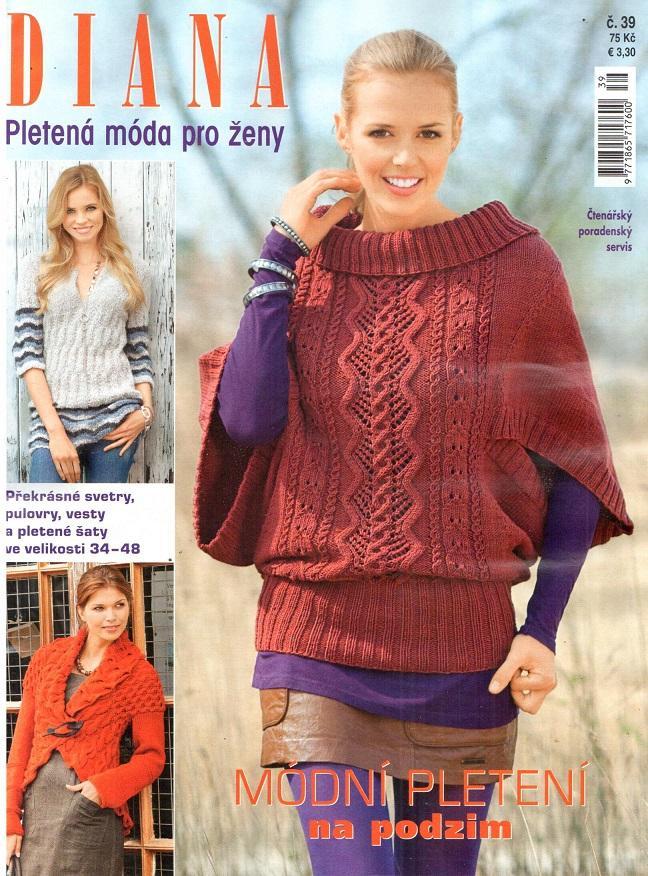 f407cbab0d4 Diana pletená móda pro ženy 39