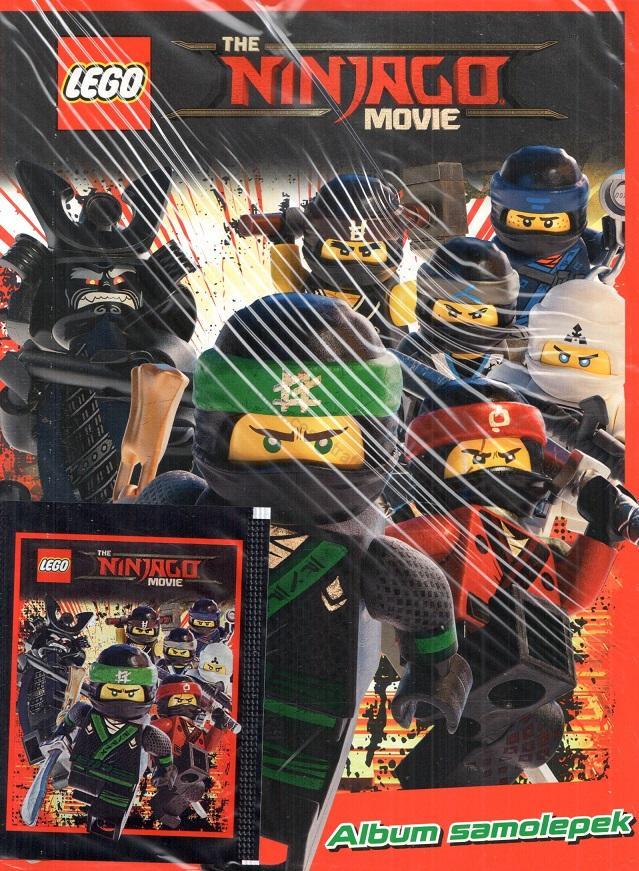 Sběratelské Album Lego Ninjago česká Trafika