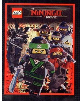 Samolepky Lego Ninjago česká Trafika