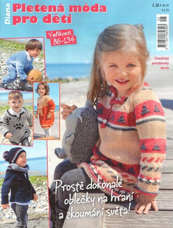 fbc550fea70 Diana pletená móda pro děti 25