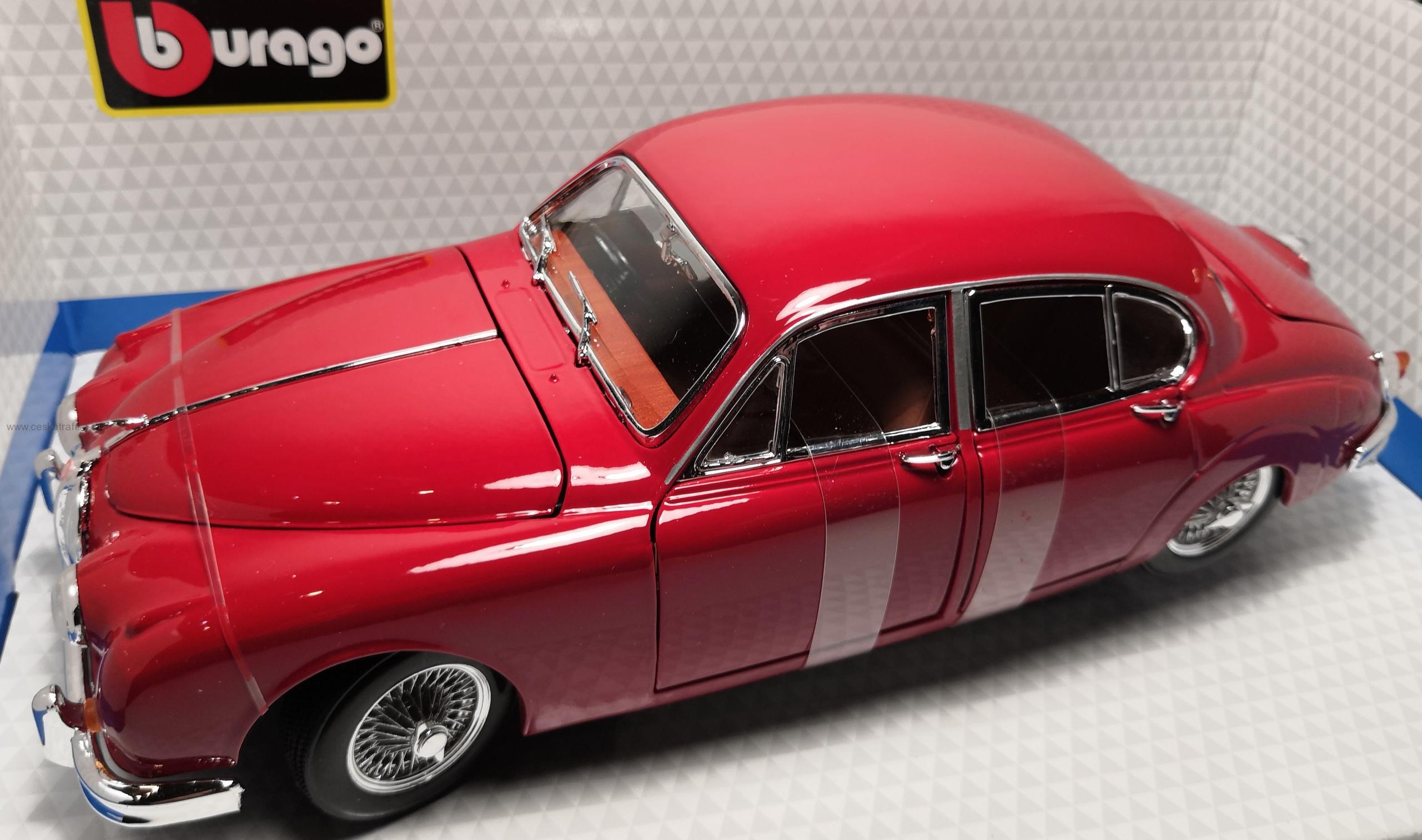 Jaguar Mark II (1959) red Bburago 1:18