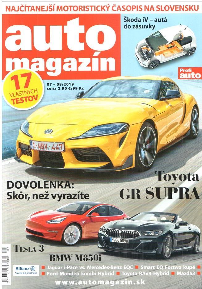 Časopis Auto magazín