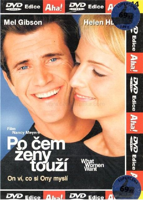Po čem ženy touží (DVD pošetka)  0eb29cc778b