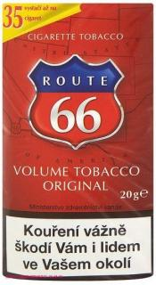 Tabák cigaretový Route 66 Red 15g