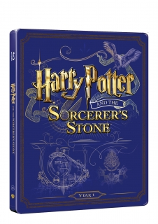 Harry Potter a kámen mudrců - steelbook (Blu-ray + DVD bonus)