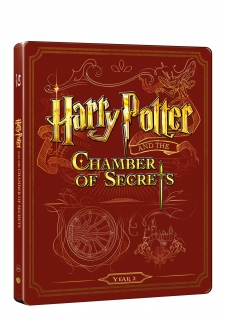 Harry Potter a tajemná komnata - steelbook (Blu-ray + DVD bonus)