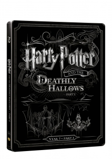 Harry Potter a relikvie smrti 2 - steelbook (Blu-ray + DVD bonus)