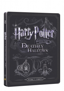 Harry Potter a relikvie smrti 1 - steelbook (Blu-ray + DVD bonus)