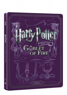 Harry Potter a ohnivý pohár - steelbook (Blu-ray + DVD bonus)