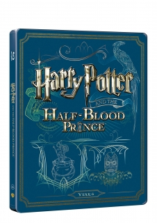Harry Potter a princ dvojí krve - steelbook (Blu-ray + DVD bonus)