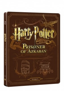 Harry Potter a vězeň z Azkabanu - steelbook (Blu-ray + DVD bonus)