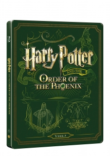 Harry Potter a fénixův řád - steelbook (Blu-ray + DVD bonus)