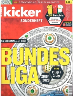 Kicker Bundesliga Sonderheft 2019/2020