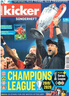 Kicker Sonderheft Champions league 2019/20