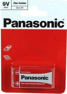 Baterie PANASONIC Special Power 9V