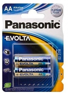 Baterie Panasonic Evolta AA 2ks