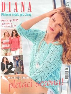 a15968d200f Diana pletená móda pro ženy 45