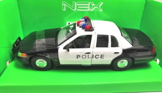 Ford Crown Victoria POLICE 1999 1:24