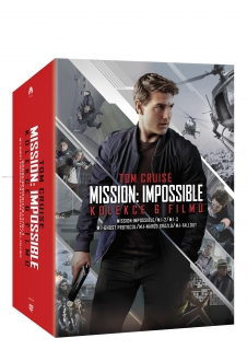 Mission: Impossible kolekce 1.-6. (6 DVD)