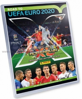 Sběratelské album PANINI ADRENALYN Road To Euro 2020