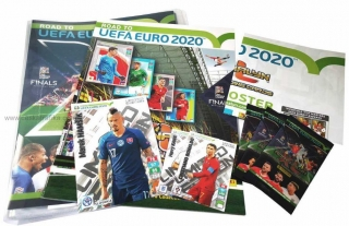 Starter set PANINI ADRENALYN Road To Euro 2020