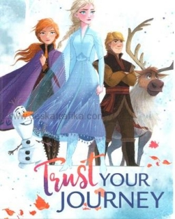 Pohlednice Frozen 2 - Trust your journey