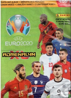 Starter set PANINI ADRENALYN Euro 2020 - green