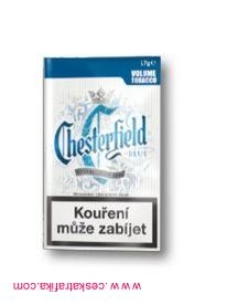 Tabák cigaretový Chesterfield blue 17g