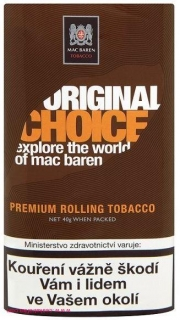 Tabák cigaretový Mac Baren Original Choice 40g