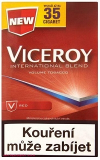 Tabák cigaretový Viceroy Red 14 g